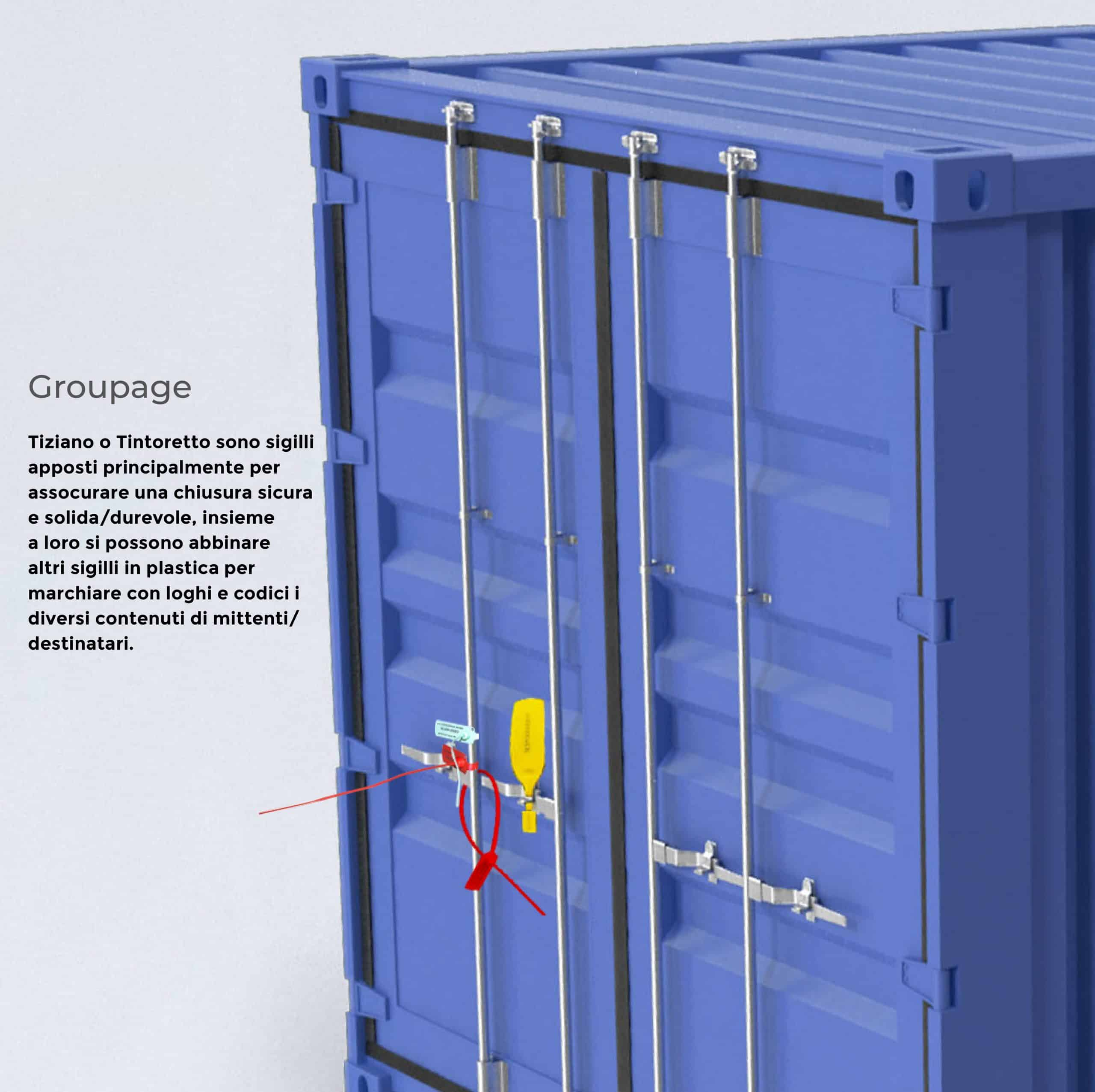 Groupage Sigilli di sicurezza Oniloc